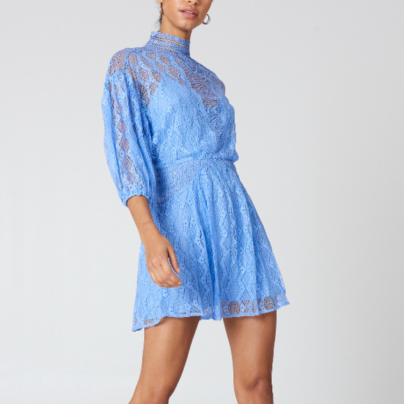 53fe4ac443 NWT Free People Bittersweet Mini Dress Size 10